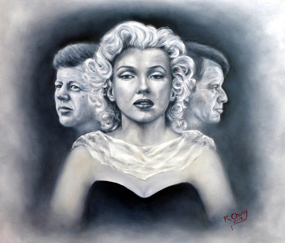 Marilyn (5) signed